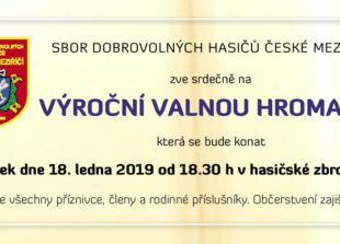 pozvanka VH 2019